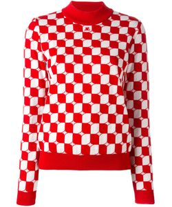 Courreges | Courrèges Checked Sweater 4 Merino
