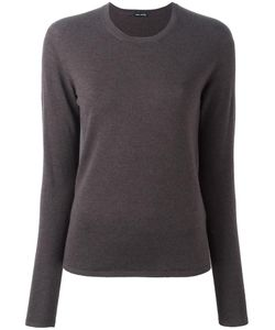 IRIS VON ARNIM | Round Neck Jumper Medium Cashmere