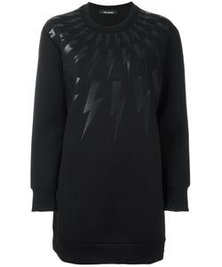 Neil Barrett   Lightning Bolt Sweatshirt Small Lyocell/Cotton/Viscose/Polyurethane