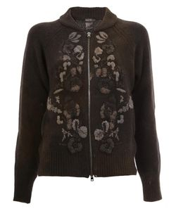 Avant Toi | Knit Zipped Cardigan Small Viscose/Wool/Merino/Cashmere