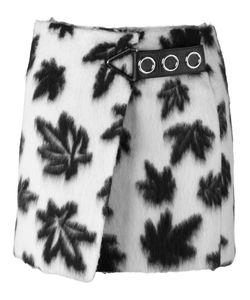 Alexander Wang | Leaf Motif Wrap Mini Skirt 6