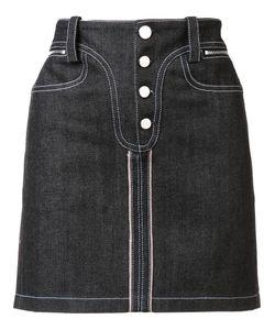 Paco Rabanne | Denim Mini Skirt 36 Cotton