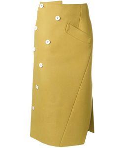 Irene | Twist Wrap Skirt 36 Wool