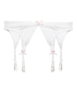Folies By Renaud | Antoinette Suspender Belt Xs Nylon