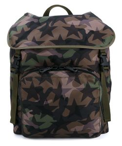 Valentino | Camustars Backpack Leather/Nylon/Cotton