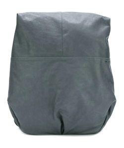 Cote & Ciel | Côte Ciel Asymmetric Backpack Canvas/Leather
