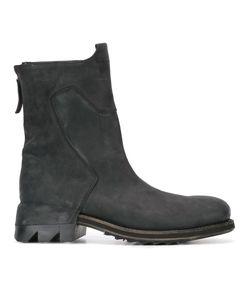 Cinzia Araia | Zip Detail Ankle Boots 44 Rubber/Leather