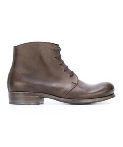 DIMISSIANOS & MILLER | Lace-Up Ankle Boots 40 Horse