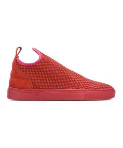 Filling Pieces | Woven Sneakers 40 Leather/Polyester/Rubber