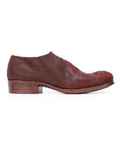DIMISSIANOS & MILLER   Lace-Up Derbies 38 Horse Leather/Leather
