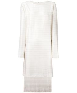 Lucio Vanotti | Striped Shift Dress 1 Viscose/Silk