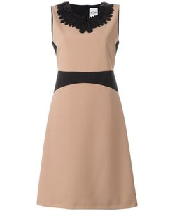 Si Jay | Embellished Neck Dress 46 Polyester/Spandex/Elastane