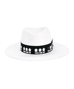 Maison Michel   Charles Straw Hat Medium Straw/Cotton