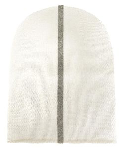 WARM-ME | Aron Strip Beanie Cashmere/Metal