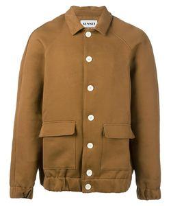 Sunnei   Cutaway Collar Bomber Jacket Medium Cotton