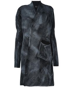 Lost & Found Ria Dunn   Woven Cardi-Coat Medium