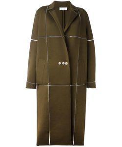 Courreges | Courrèges Oversized Long Coat 36 Merino/Polyamide/Spandex/Elastane