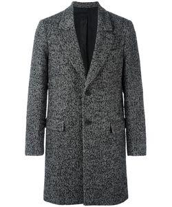 Ami Alexandre Mattiussi | Herringbone Overcoat 46 Cotton/Acetate/Wool/Mohair
