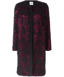 Si Jay | Lace Overlay Coat 44 Polyester