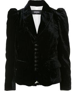 Dsquared2 | Raised Shoulder Jacket 44 Silk/Cotton/Viscose
