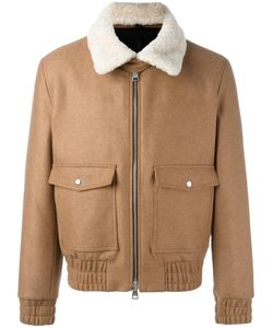 Ami Alexandre Mattiussi | Shearling Collar Zipped Jacket Large