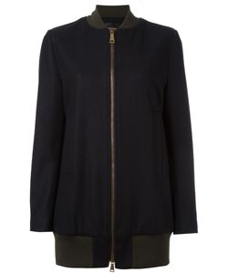 Erika Cavallini | Long Length Bomber Jacket 42 Virgin