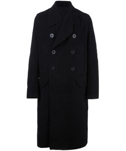 Rick Owens | Oversized Peacoat 48 Cotton/Cupro