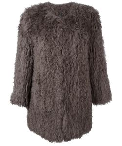 RAVN | Classic Fur Coat 36 Lamb Fur