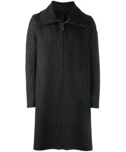 Poème Bohèmien | Poème Bohémien High Neck Zip-Up Coat 50 Wool/Acetate