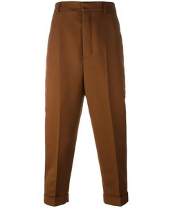 Ami Alexandre Mattiussi   Carrot Fit Trousers 34 Polyester/Wool