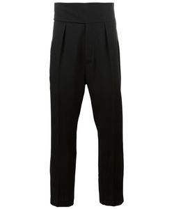 Ann Demeulemeester | Tailored Drop-Crotch Trousers Medium Virgin Wool/Cotton