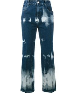 Stella Mccartney | Tie-Dye Cropped Jeans 29 Cotton/Spandex/Elastane