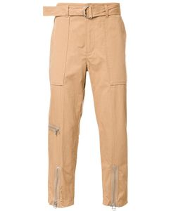 3.1 Phillip Lim | Zipped Ankle Trousers Large Cotton