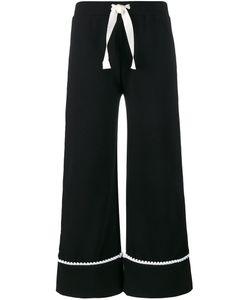 Jour/Né | Logo Patch Trousers 38 Cotton