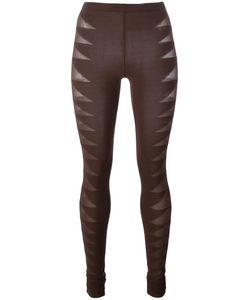 Rick Owens Lilies | Sheer Detail Leggings 40 Polyamide/Spandex/Elastane/Viscose