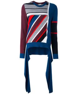 Kenzo | Colour Block Jumper Large Wool