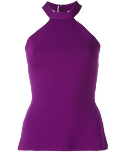 Roland Mouret | Halterneck Top Medium Nylon/Viscose