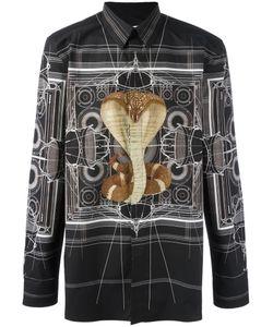 Givenchy   Cobra Print Shirt 39 Cotton