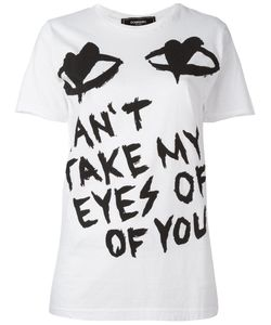 DOM REBEL | Eyes T-Shirt Small Cotton