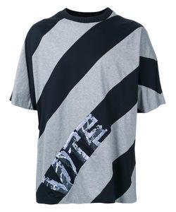 JUUN.J | Diagonal Stripe T-Shirt 48 Cotton