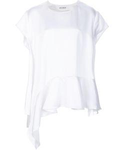 Paco Rabanne   Ruffle Hem T-Shirt 36 Acetate/Viscose