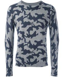 ZOE JORDAN | Camouflage Jumper Small Cashmere/Wool