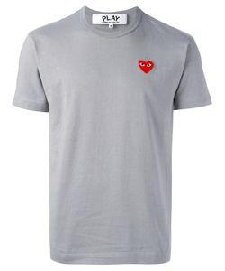 Comme des Gar ons Play | Comme Des Garçons Play Heart Patch T-Shirt Medium