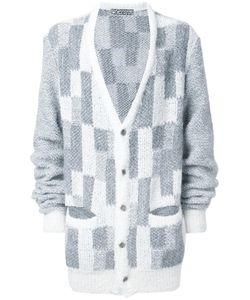 ANREALAGE | Oversized Noise Cardigan Acrylic/Nylon/Polyester/Alpaca
