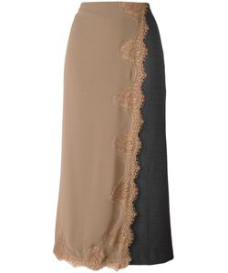 Erika Cavallini | Layered Effect Long Skirt 40 Polyester/Spandex/Elastane/Virgin
