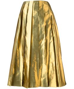 Arthur Arbesser | Pleated Skirt 40 Polyester/Silk