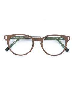 Gold And Wood | Orion Glasses Wood/Aluminium