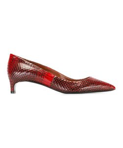 David Beauciel | Python Effect Pumps 39 Calf Leather/Leather