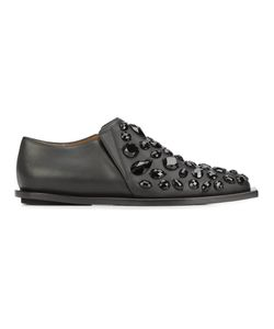 Marni | Embellished Loafers 38 Calf Leather/Leather