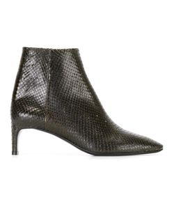 David Beauciel | Andie Python Effect Ankle Boots 40